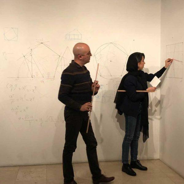 کارگاه گره چینی به مثابه دستور زبان بصری در ایران