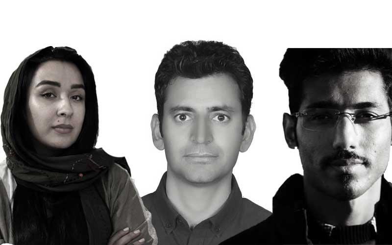 رها چراغزاده، پویا دوستی و حمید احمدی