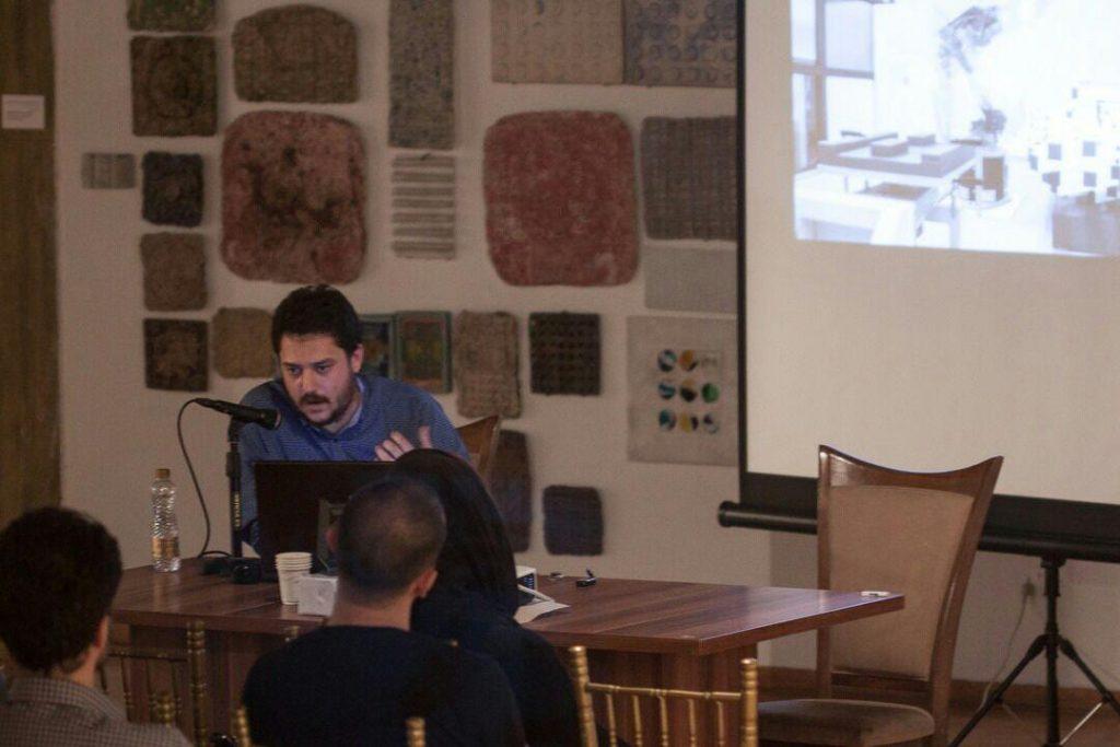 نشستی با سینا مصطفوی در اولین رویداد پترنیتکچر